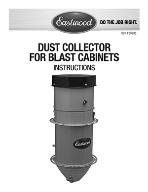 Eastwood dust collector 30998.pdf