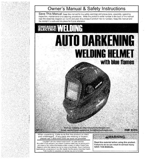 Chicago Electric automatic welding helmet.pdf