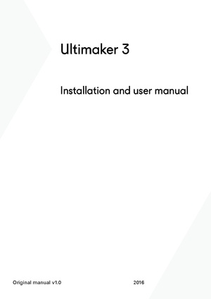 Ultimaker 3 user manual.pdf