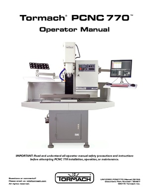 Tormach PCNC770 CNC Mill Manual 0916A.pdf