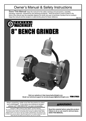 Central Machinery 8 inch grinder S-595.pdf