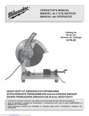 Milwaukee 14 inch cutoff saw 6176-20.pdf