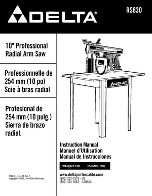 Delta RS830 10 inch radial arm saw.pdf