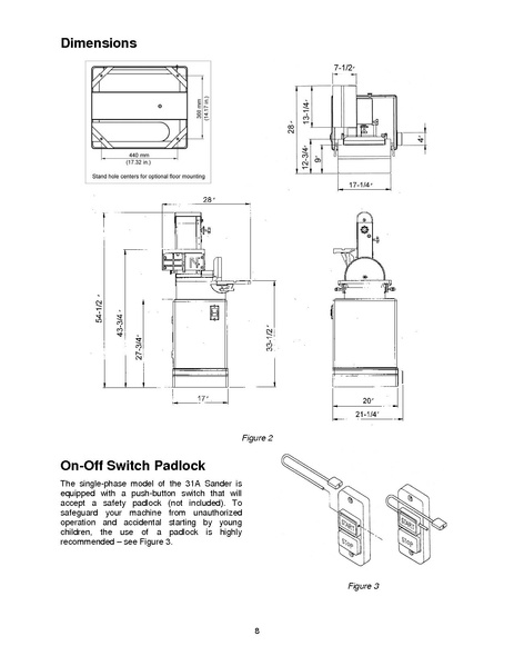 File:Powermatic Belt Disc sander 31A pdf - makerspace tulane edu