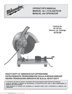 Equipment Manuals Makerspacetulaneedu. Abrasive Cutoff Saw. Wiring. Northern Tool Bench Grinder Wiring Diagram At Scoala.co